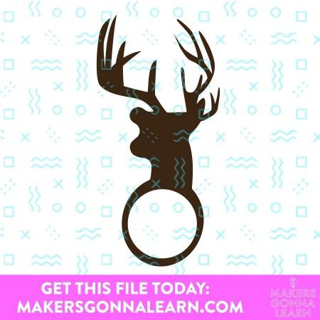 Monogram Deer