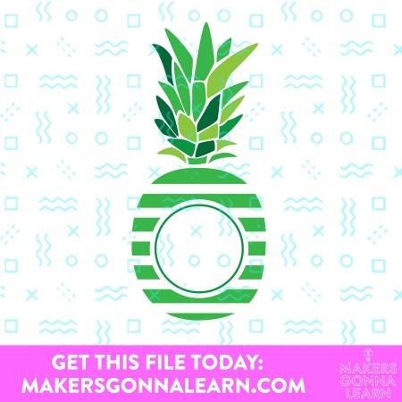 Monogram Pineapple