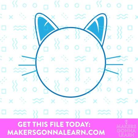Monogram Cat