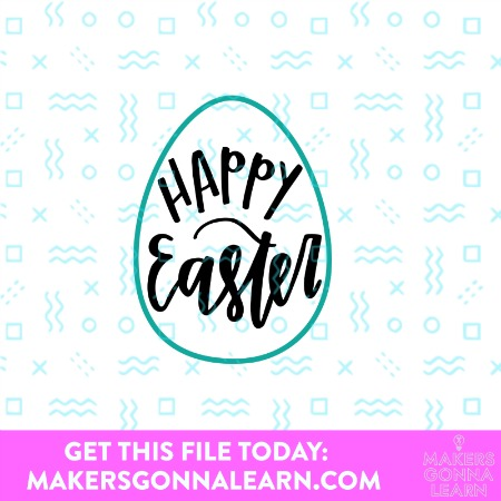 Happy Easter with Egg