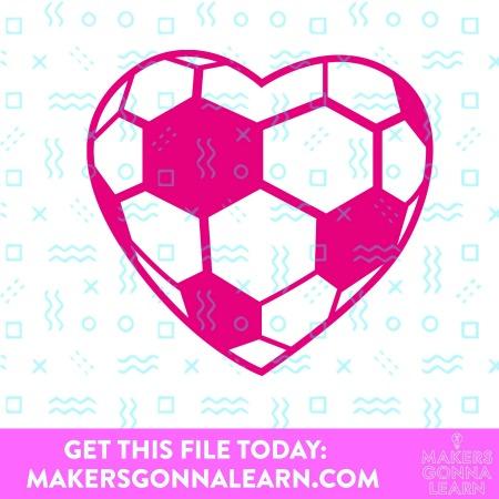 Heart Soccer Ball