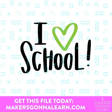 I Heart School!