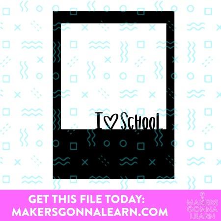 School Polaroid
