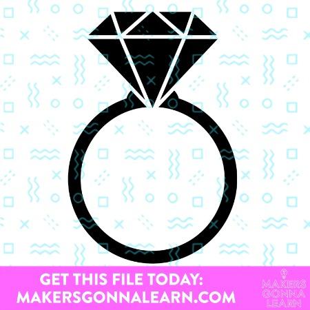 Diamond Engagement Ring 2