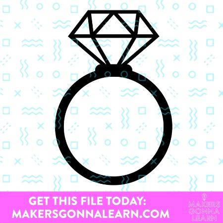 Diamond Engagement Ring 1