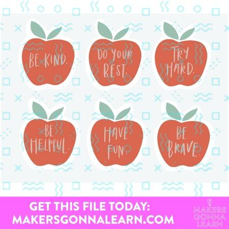 Teacher Notes Apples