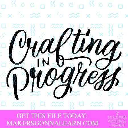Crafting in Progress 1