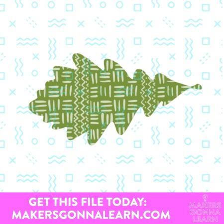 Fall Print Pattern Leaves 5