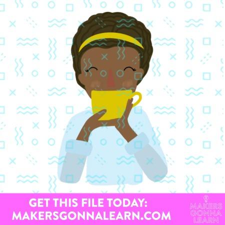 Fall Print Tea Girls 2