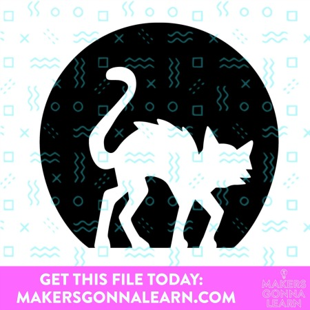 CAT AND MOON SVG BUNDLE