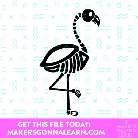 FALL REGULAR FLAMINGO SVG BUNDLE