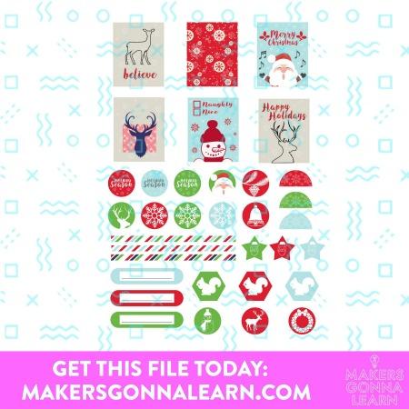 Christmas Planner Sticker 1