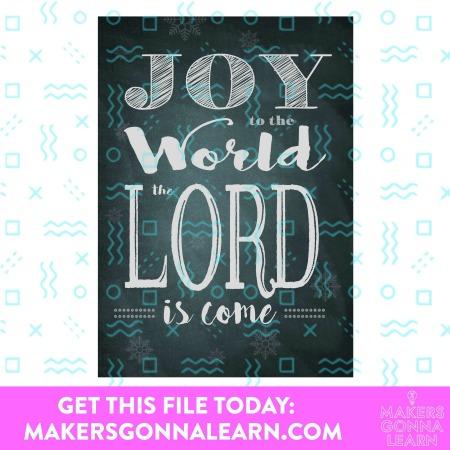 Joy To The World Blackboard