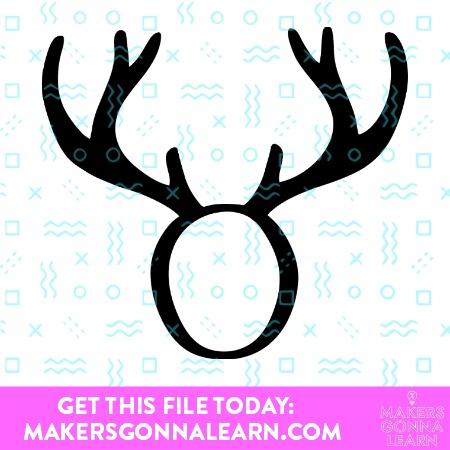Monogram Antlers