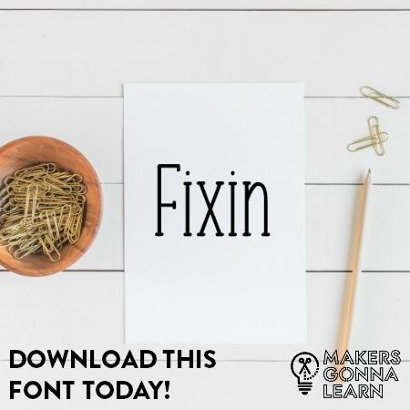 Fixin