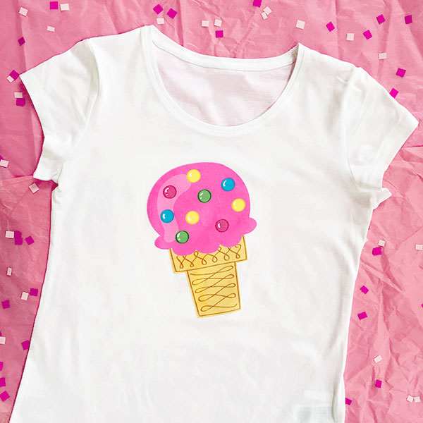Ice Cream Tshirt Finished Jen Goode 1