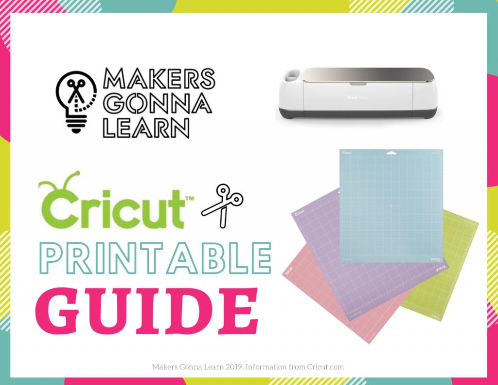 Cricut Printable Guide