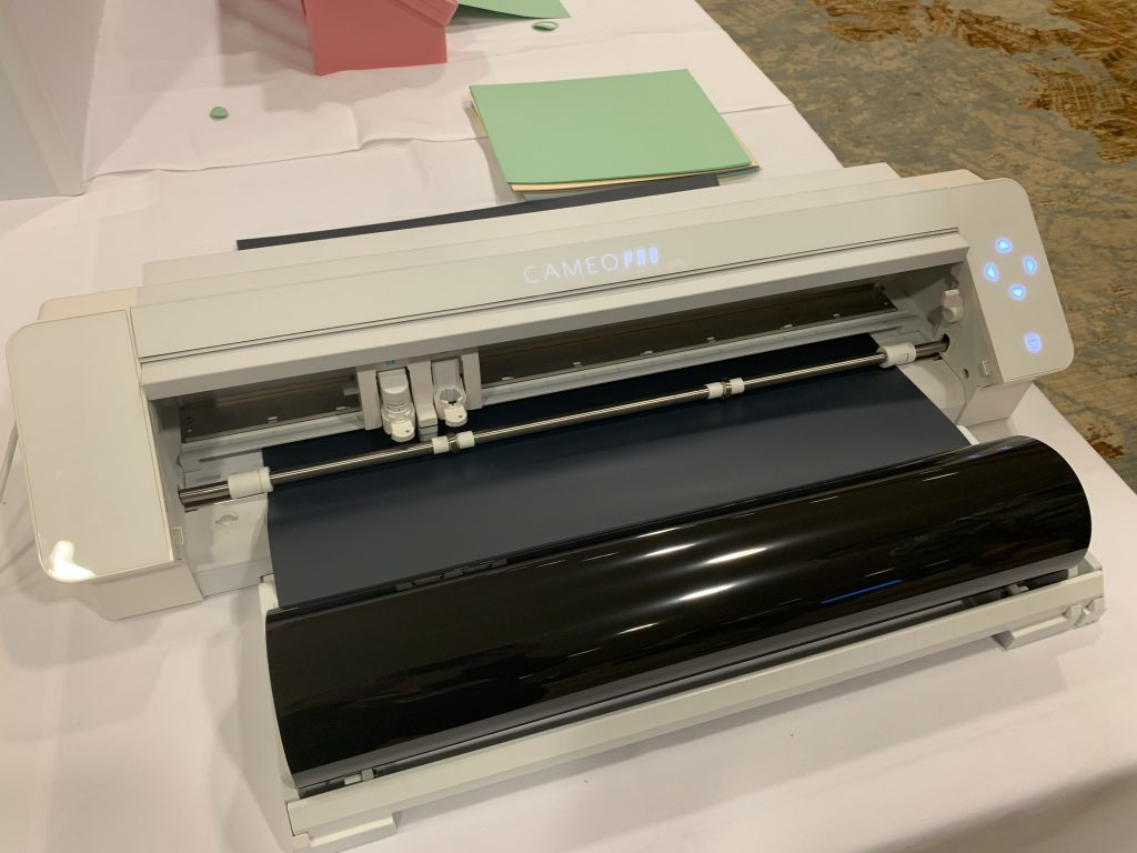 """Silhouette CAMEO Pro, an amazing20"""" wide die cutting machine coming soon"""