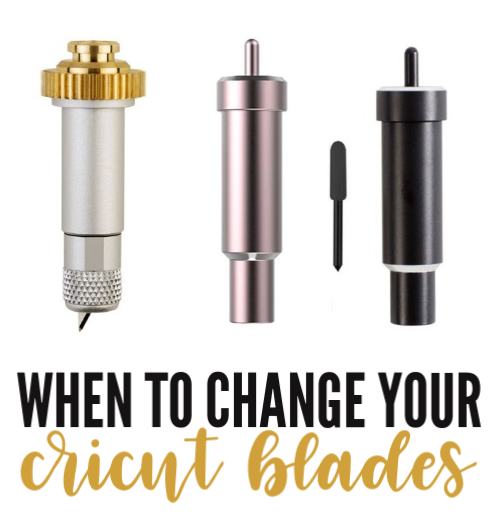 When to Change your Cricut Blades
