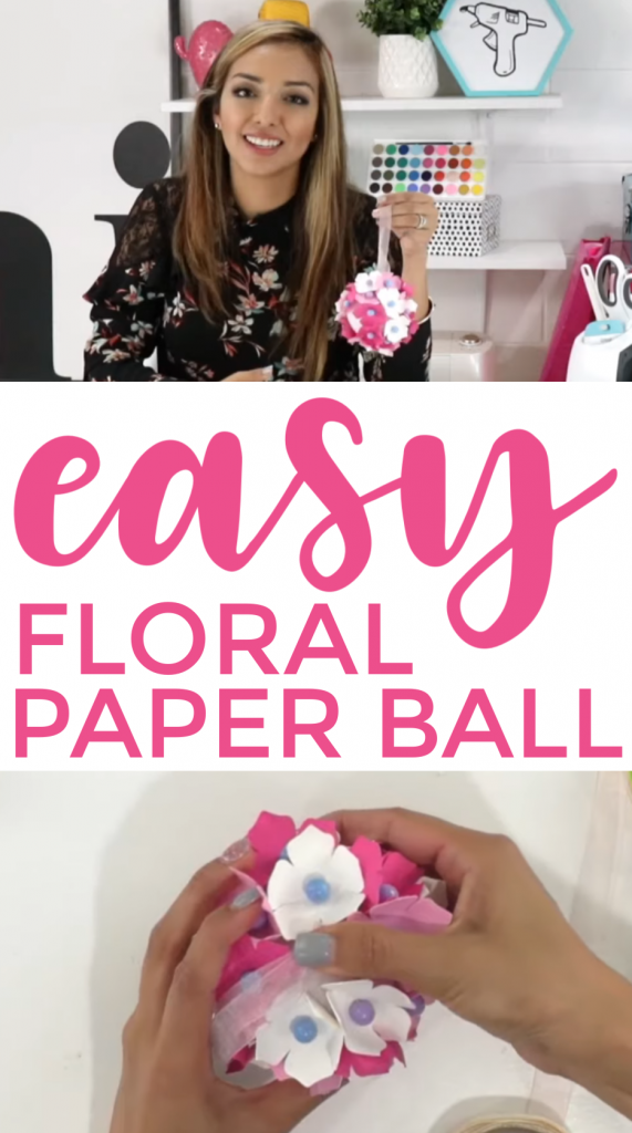 Floral Paper Ball