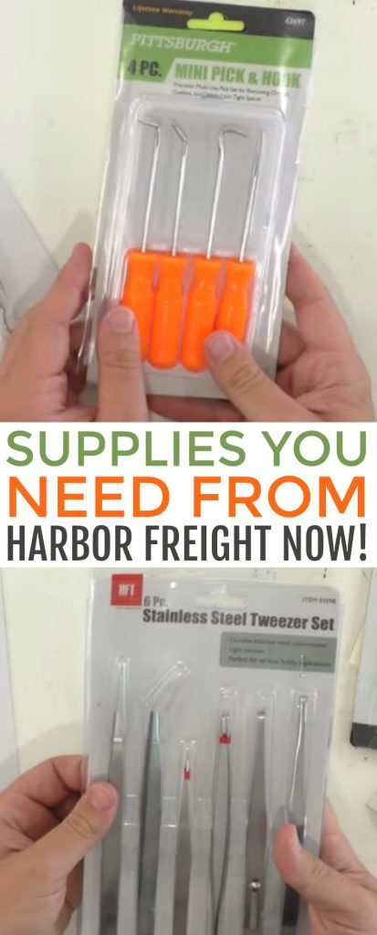 Supplies You Need From Harbor Freight Now