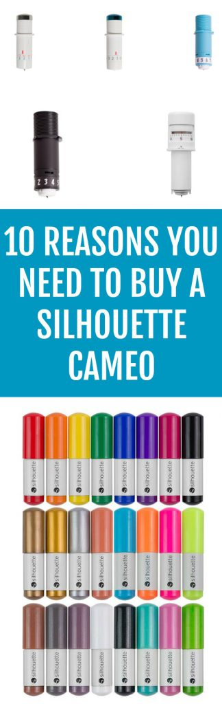 10 Reasons You Need To Buy A Silhouette Cameo
