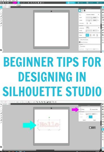Beginner Tips For Designing In Silhouette Studio