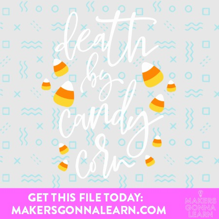 CANDY CORN SVG BUNDLE