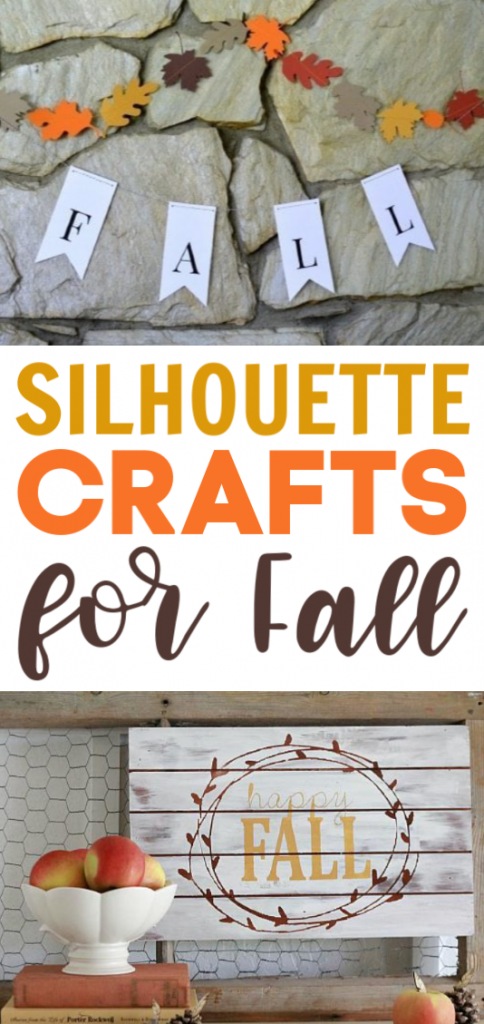 Silhouette Crafts For Fall