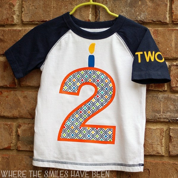 Toddler Birthday Shirt Front Square