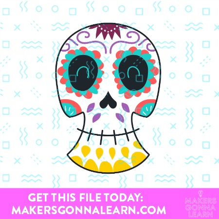 HAPPY SKULL SVG BUNDLE