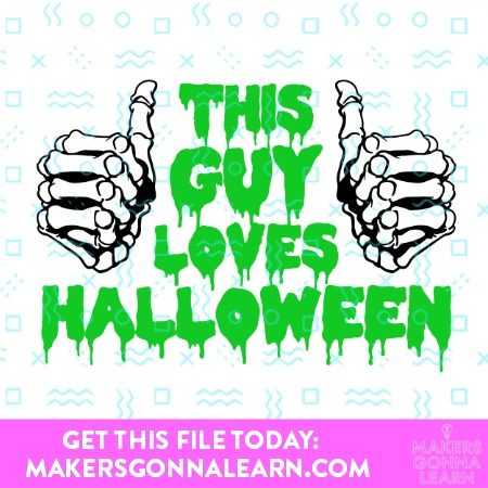 THIS GUY LOVES HALLOWEEN SVG BUNDLE