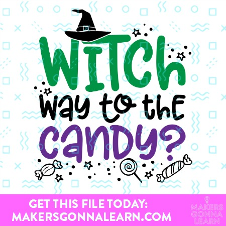 WITCH WAY TO THE CANDY SVG BUNDLE