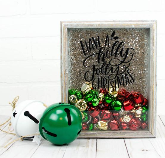 Jingle Bell Christmas Shadow Box