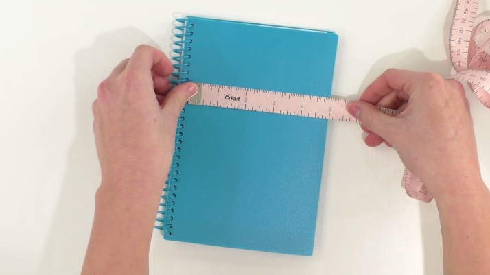 Measure your surface first before cutting your vinyl design