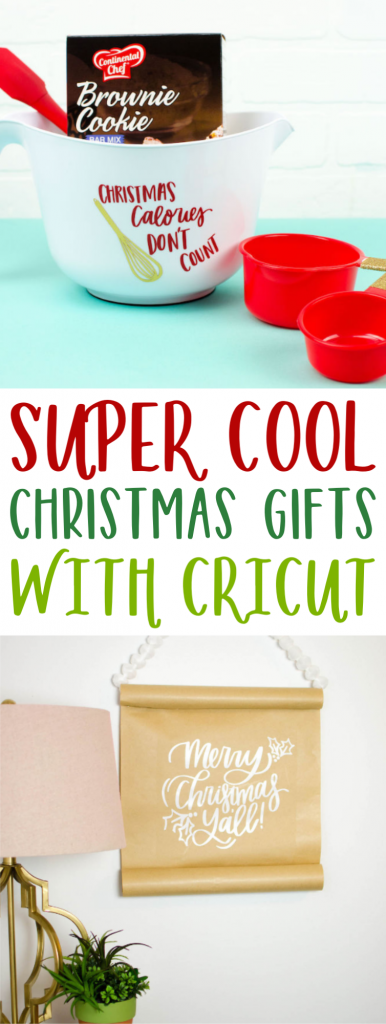 Super Cool Christmas Gifts With Cricut