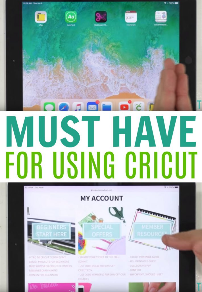 Must Have Apps For Using Cricut