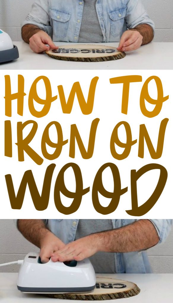 How To Iron On Wood complete craft tutorial