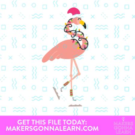 MGL_Christmas Flamingo
