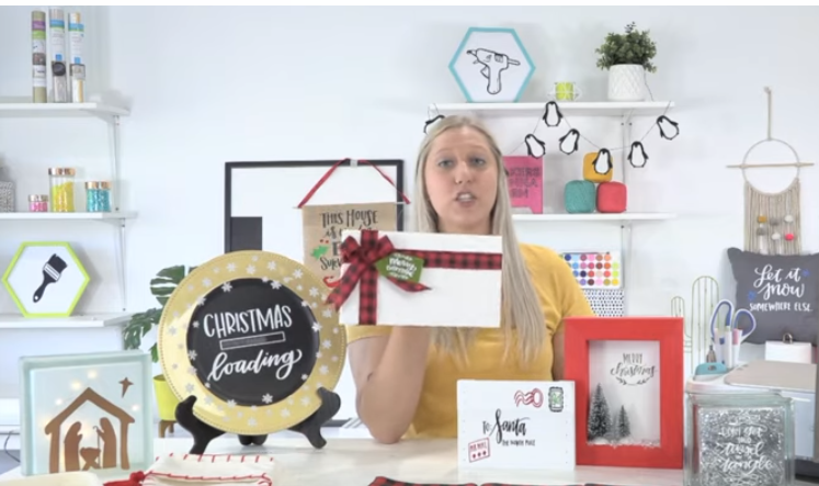 Make Amazing Home Decor For The Holidays With Your Cricut