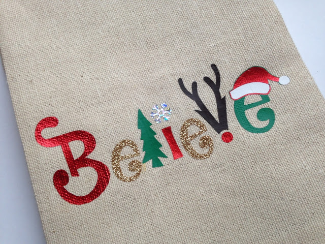 Christmas Believe tea towels make a great stocking stuffer