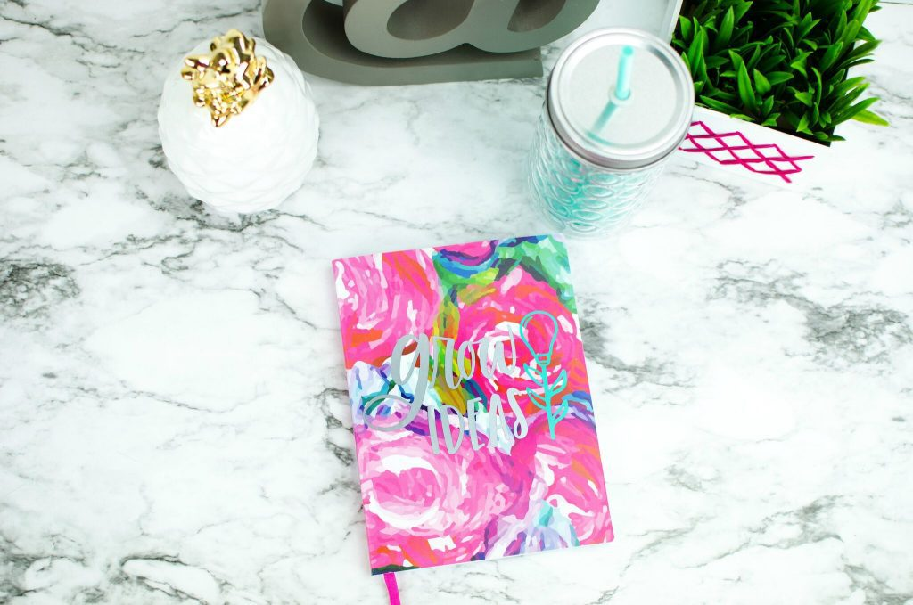 Diy Cricut Vinyl Decal Notebooks