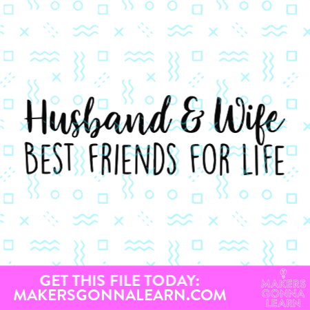 Husband & Wife Best Friends For Life