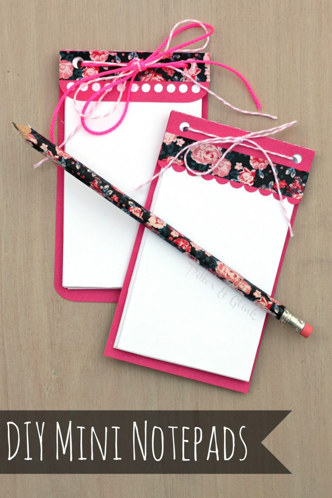 Mini Notepads are perfect stocking stuffers