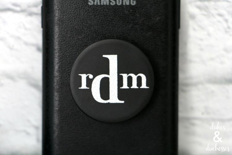 Monogrammed Popsocket