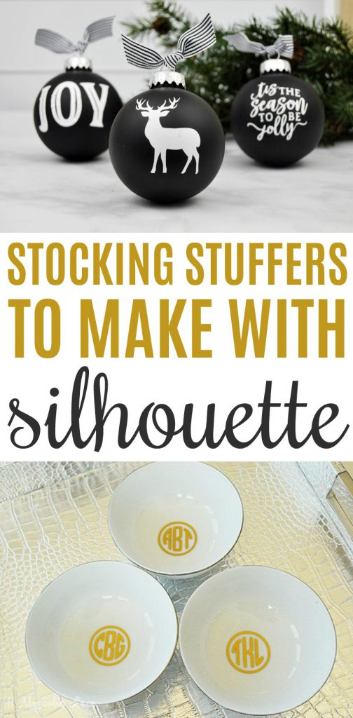 Stocking Stuffers To Make With Silhouette