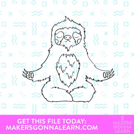 Yoga Sloth