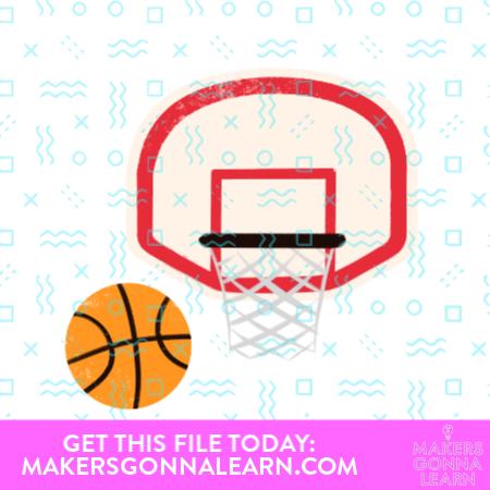 Basketball & Hoop