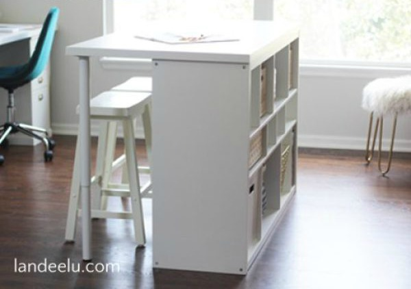 2ikea Hack Craft Room Table
