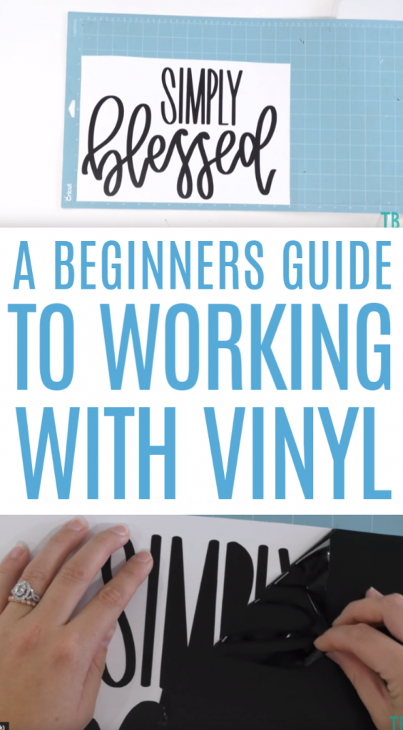 A Beginners Guide To Working With Cricut Vinyl